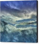 Storm Brewing Canvas Print by Jack Zulli