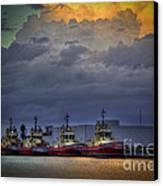 Storm Brewing Canvas Print by Marvin Spates