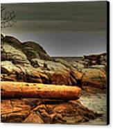 Storm Brewing Canvas Print by Randy Hall