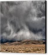 Storm Clouds Canvas Print by Cat Connor