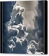 Storm Clouds  Canvas Print by Vincent Dwyer