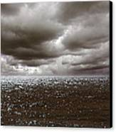 Storm Front Canvas Print by Mark Rogan