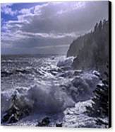 Storm Lifting At Gulliver's Hole Canvas Print by Marty Saccone
