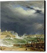 Storm Malta Canvas Print