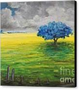 Stormy Clouds Canvas Print by Alicia Maury