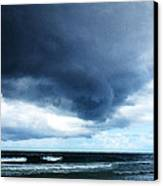 Stormy - Gray Storm Clouds By Sharon Cummings Canvas Print