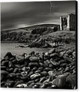 Stormy Night In Ireland Canvas Print