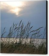 Stormy Sunset Prince Edward Island II Canvas Print by Micheline Heroux