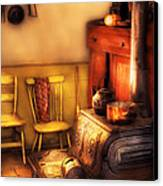 Stove - An Old Farm Kitchen Canvas Print