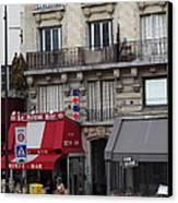 Street Scenes - Paris France - 011352 Canvas Print by DC Photographer