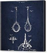 Striking Bag Patent Drawing From1891 Canvas Print by Aged Pixel