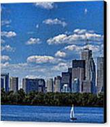 Striking Toronto Skyline Canvas Print by Jo Ann