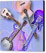 Stringed Instruments Canvas Print by Design Pics Eye Traveller