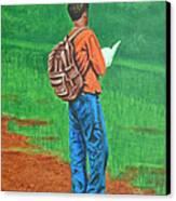 Studious Canvas Print