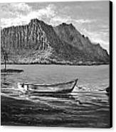 Study- Kaneohe Bay Early Morn 1 Canvas Print