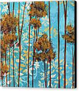 Stunning Abstract Landscape Elegant Trees Floating Dreams II By Megan Duncanson Canvas Print