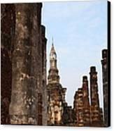 Sukhothai Historical Park - Sukhothai Thailand - 011320 Canvas Print by DC Photographer