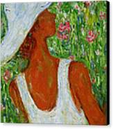 Summer Blush Canvas Print by Xueling Zou