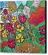 Summer Cottage Canvas Print by Matthew  James