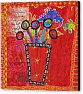 Summer Dance Canvas Print by Susan Rienzo