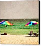 Summer Days At The Beach Canvas Print