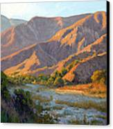 Summer Evening Eaton Canyon Canvas Print by Armand Cabrera