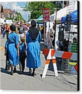 Summer Festival In Berne Indiana II Canvas Print