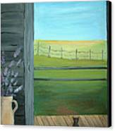 Summer Canvas Print by Glenda Barrett