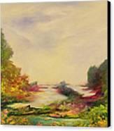 Summer Joy Canvas Print by Hannibal Mane