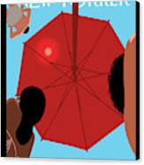 Summer Sky Canvas Print by Christoph Niemann