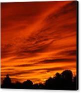 Summer Sky Canvas Print by Scott Ware