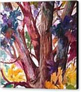 Summer Tree Canvas Print