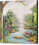 Summer Vista  Canvas Print by Hannibal Mane