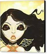 Sun Fae Canvas Print by Elaina  Wagner