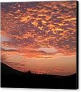 Sun Rise Colors Canvas Print by Kiara Reynolds
