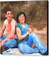 Sun Shulan Canvas Print by Sharon Burger