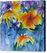 Sun Splashes Canvas Print by Anne Duke