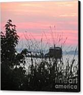 Sun To Rise On The Chesapeake Bay Canvas Print