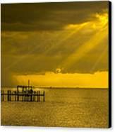 Sunbeams Of Hope Canvas Print