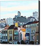 Sunday At Marina Green Park Fort Mason San Francisco Ca Canvas Print by Artist and Photographer Laura Wrede