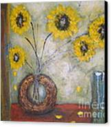 Sunflowers Canvas Print by Elena  Constantinescu