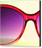 Sunglass - 5d20678 - V2 Canvas Print by Wingsdomain Art and Photography