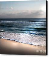 Sunlit Shore Canvas Print by Jeffery Fagan