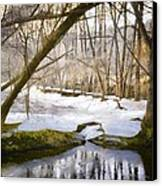 Sunny But So Cold Canvas Print