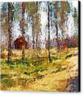 Sunny Day In April Canvas Print