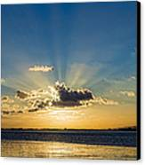Sunrays Canvas Print by Trevor Wintle
