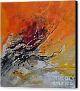 Sunrise - Abstract Canvas Print by Ismeta Gruenwald