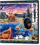 Sunrise At Bear Lake Canvas Print