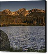 Sunrise At Spraque Lake Canvas Print by Tom Wilbert
