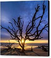 Sunrise Jewel Canvas Print by Debra and Dave Vanderlaan